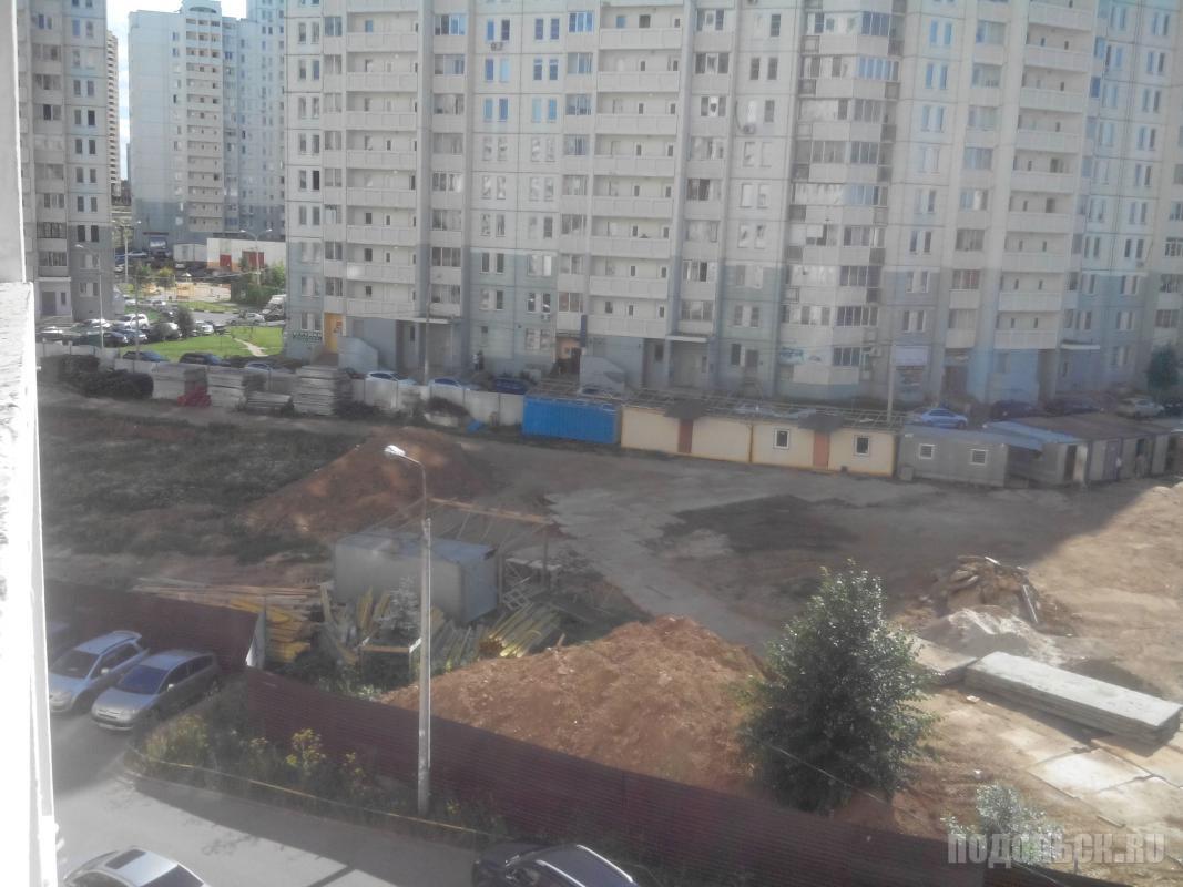 Строительство медиацентра с кинотеатром на Ленинградской, 23. Июль 2016 г.