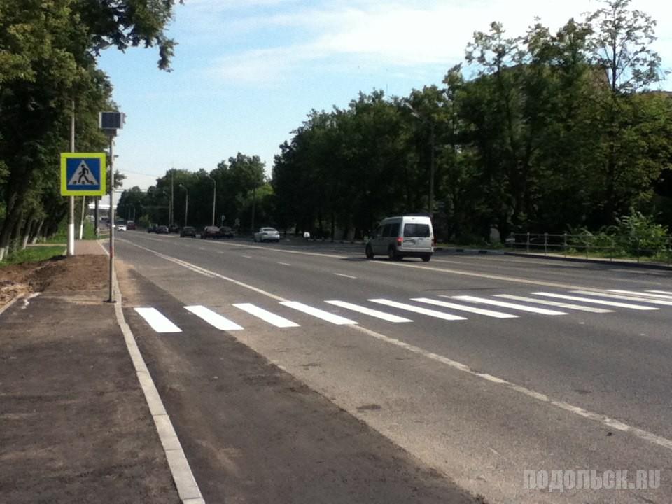 Новый переход у Сергеевского путепровода. Июль 2016 г.