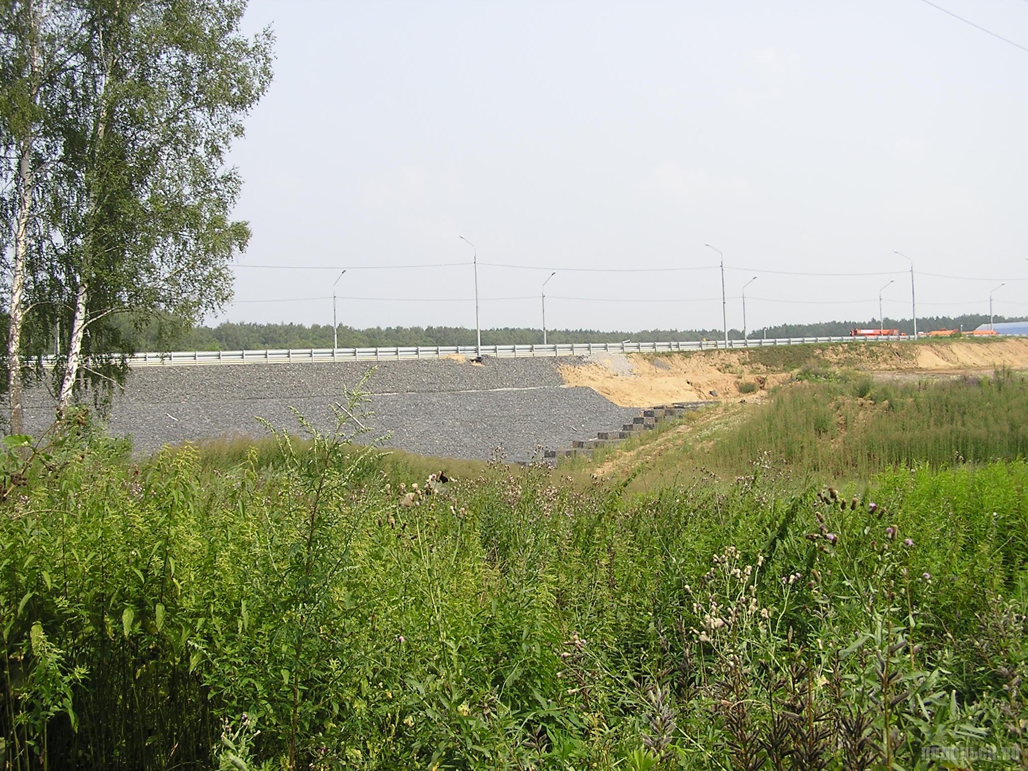 Эстакада у Сергеевки 24 июля 2016 г.
