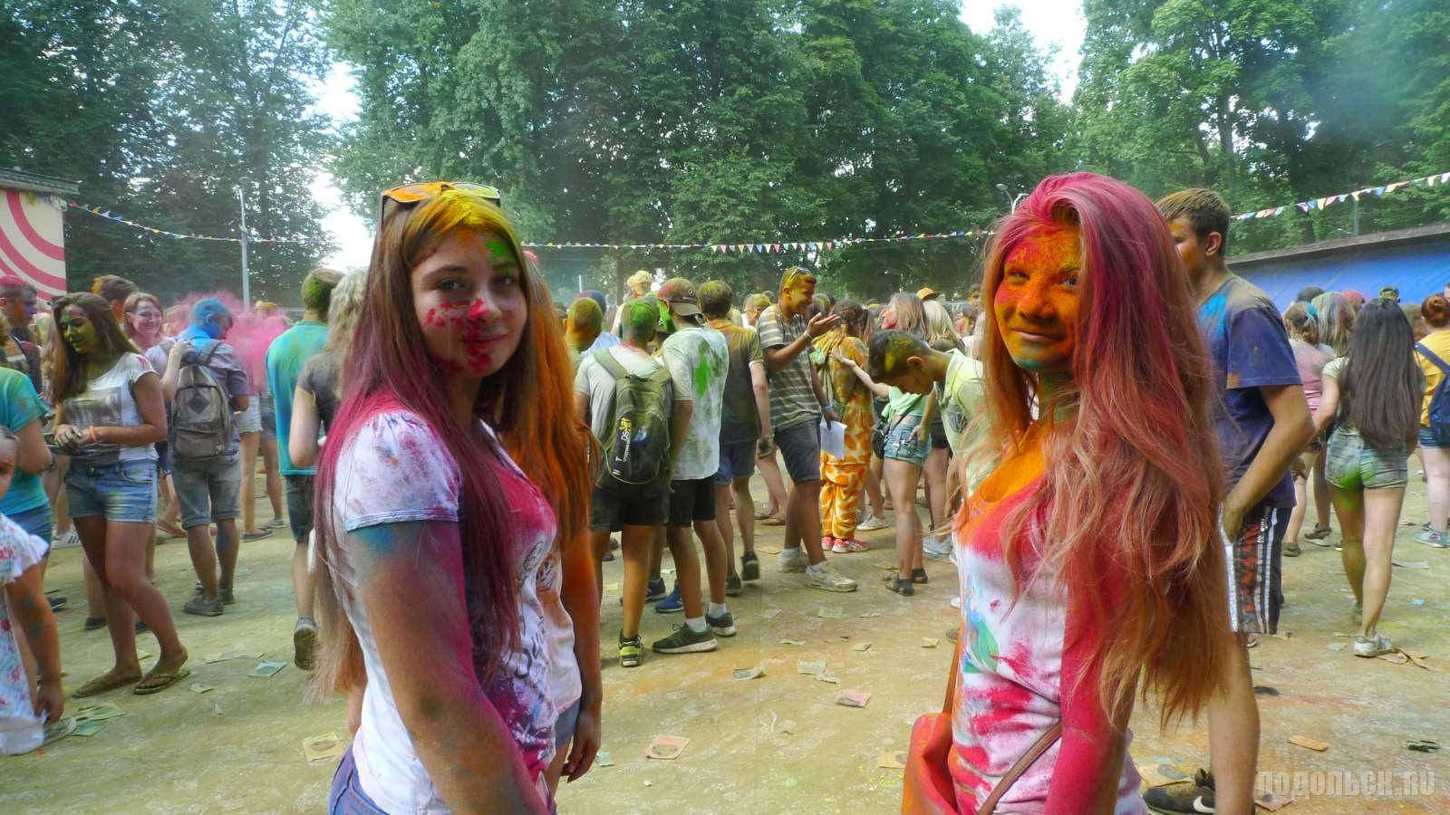 Фестиваль красок в Подольске. 31.07.16