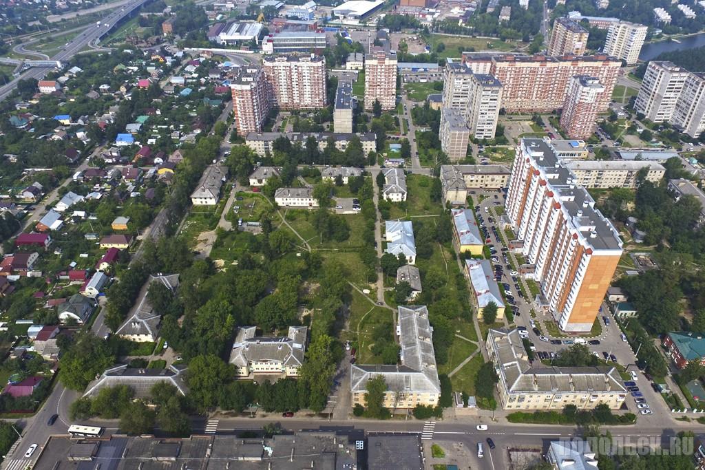 """Место будущего ЖК """"Кутузово"""". Аэрофотосъемка, август 2016 г."""