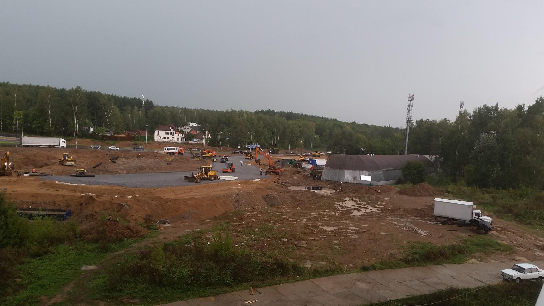 Развязка на ул. Кирова. 30 августа 2016 г.