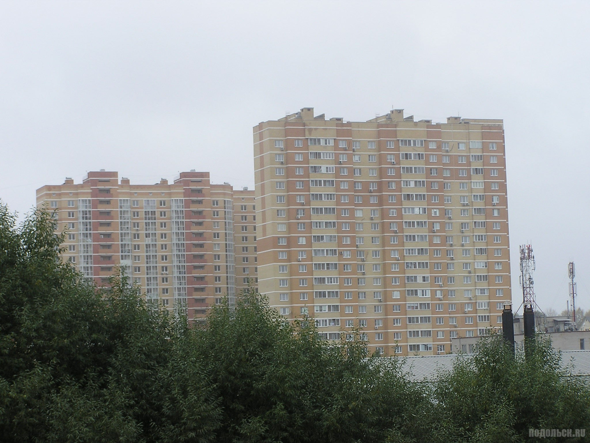 Новостройки на Рязановском шоссе, 18.09.16.