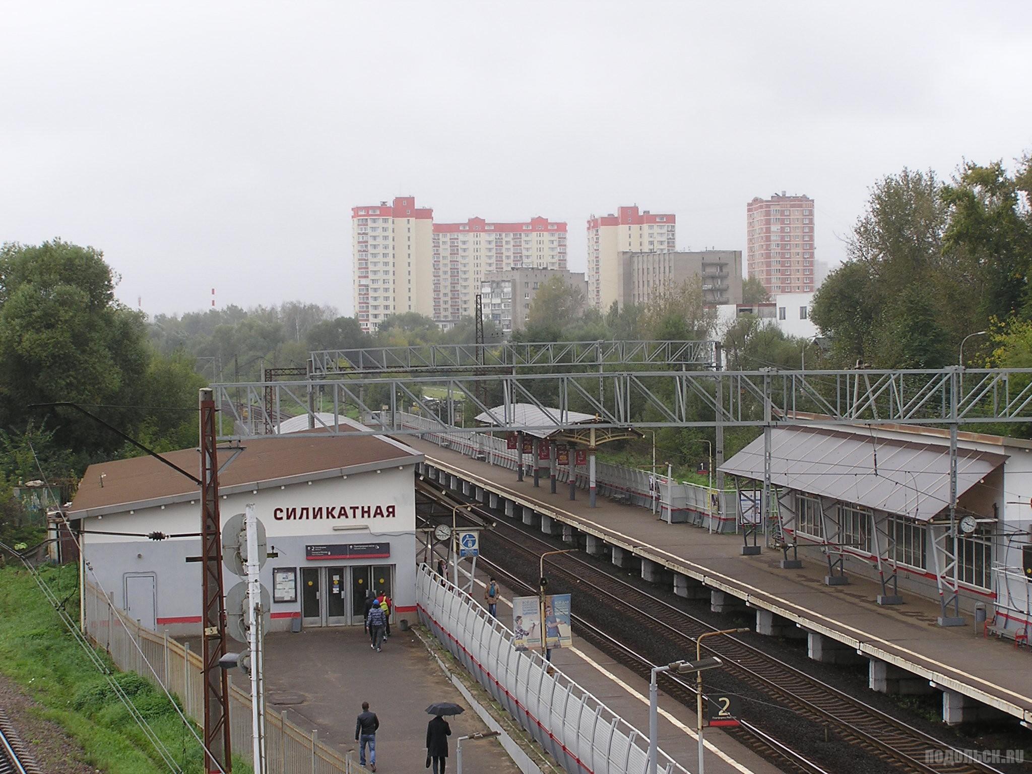 Силикатная-2, вид с моста. 18.09.16.