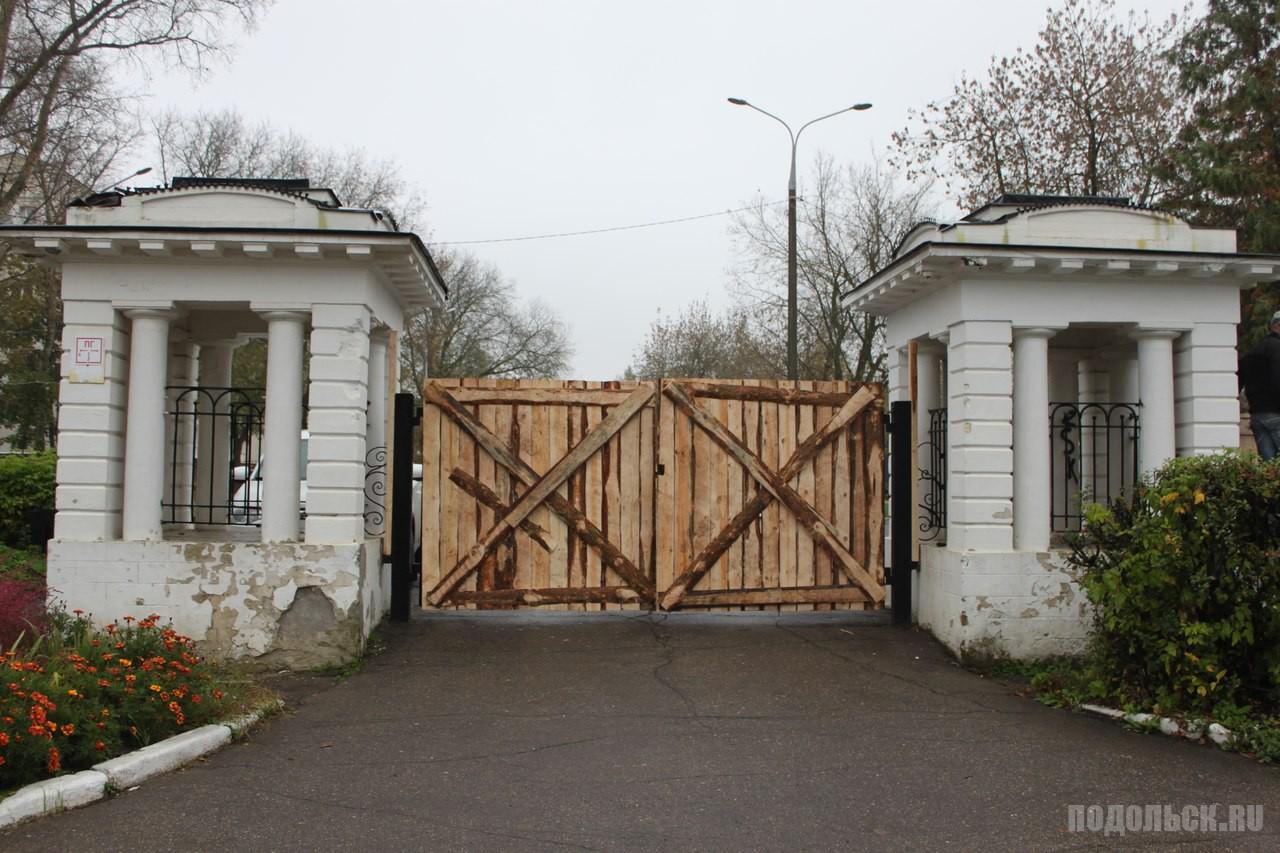 Съемки фильма в усадьбе Ивановское, октябрь 2016 г.