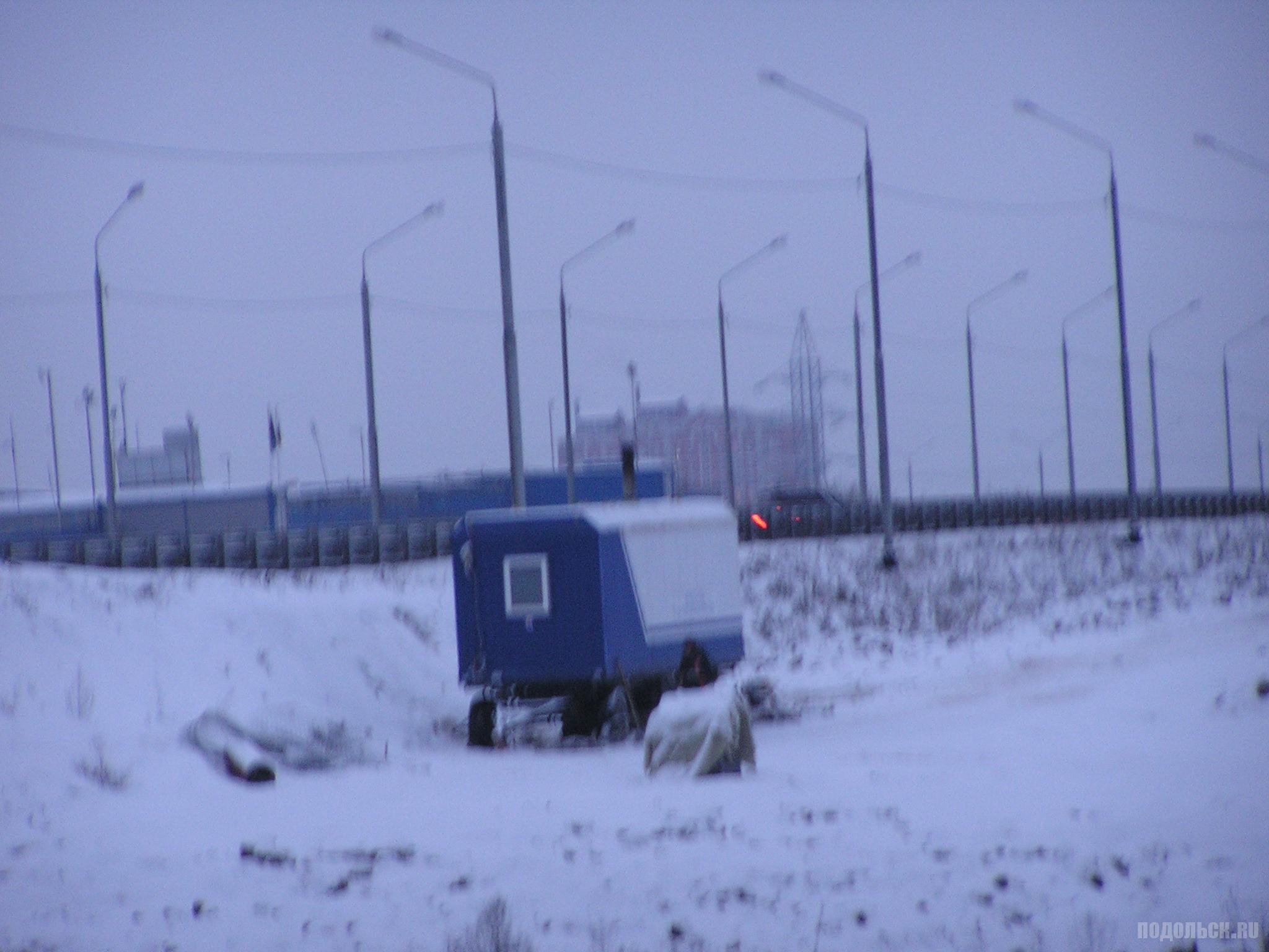 Вид на ЮО у поля в Сергеевке. 3 декабря 2016 г.