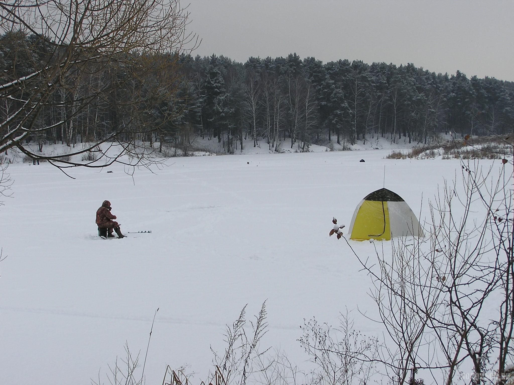 Зимняя рыбалка. Петрица. 3 декабря 2016 г.