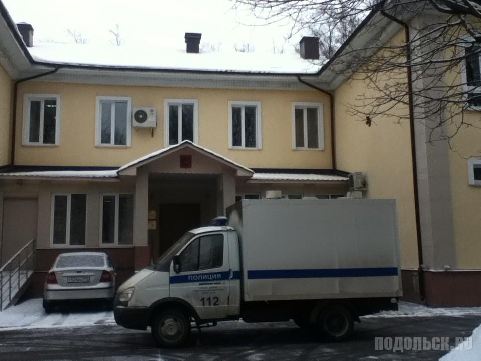 Климовский городской суд. Автозак. Декабрь 2016 г.