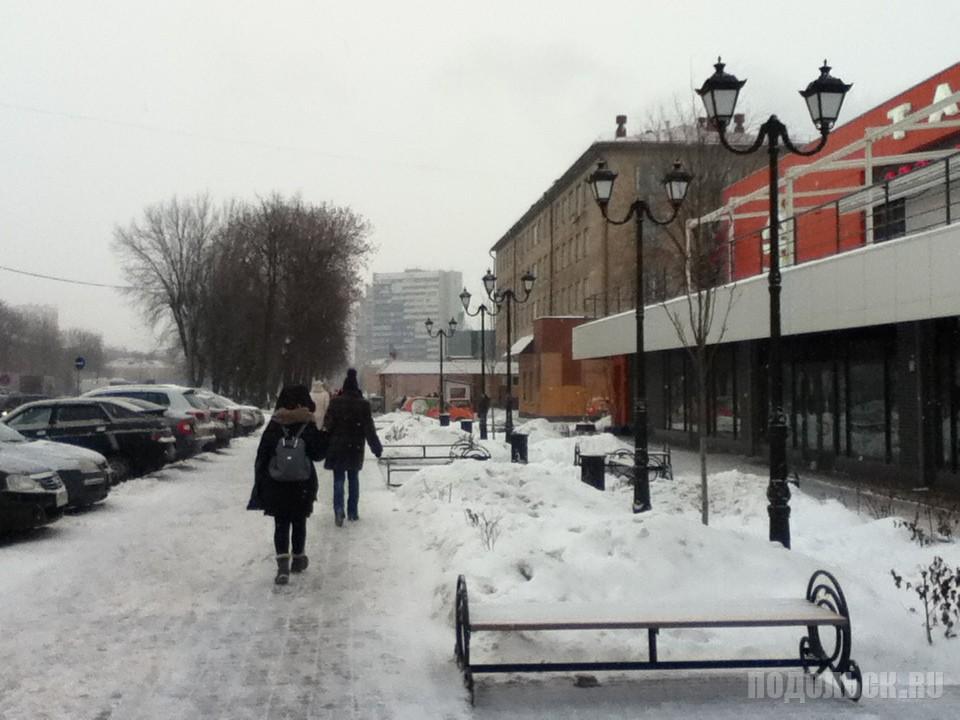 Бульвар Льва Толстого. Декабрь 2016.