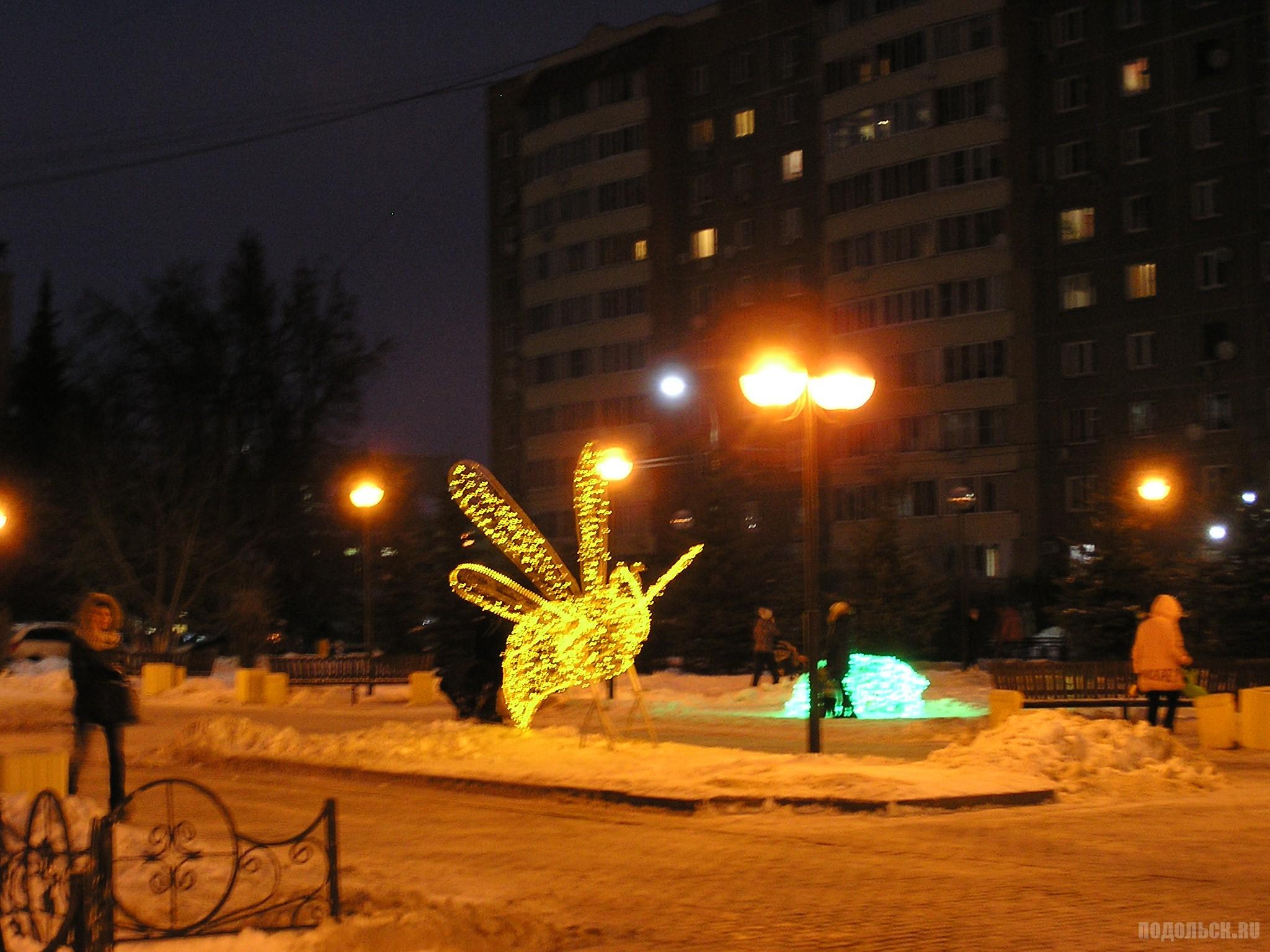Сквер Поколений. 22.12.2016.