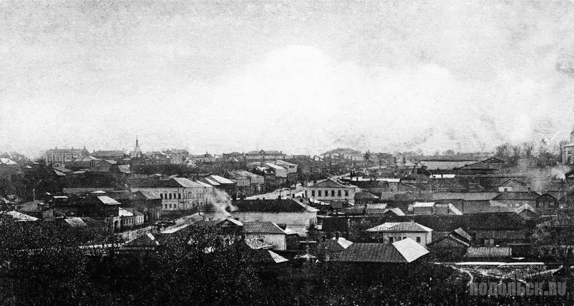 Общий вид с Красной Горки, 1912 год