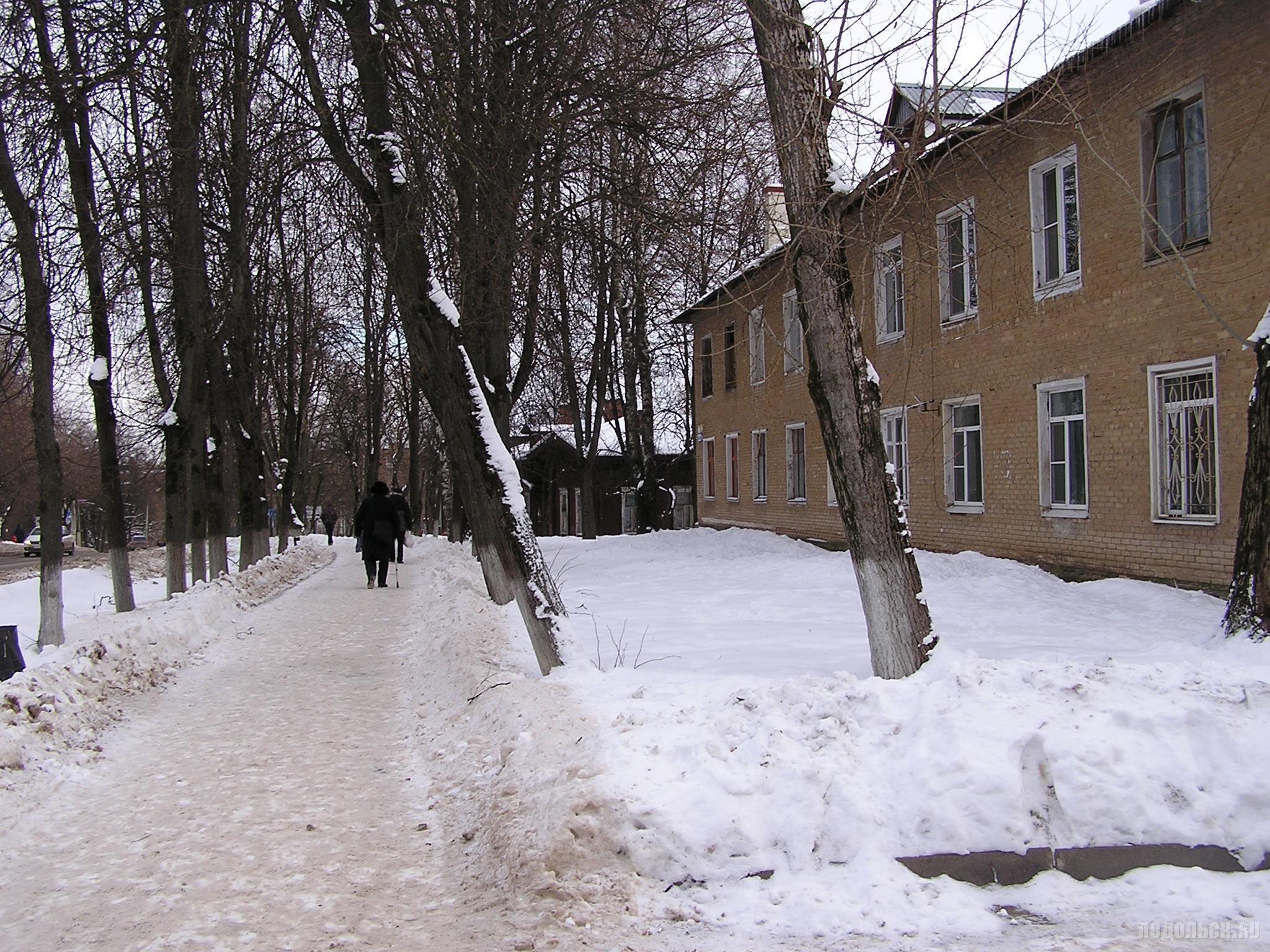 Школьная улица 21.01.2017.