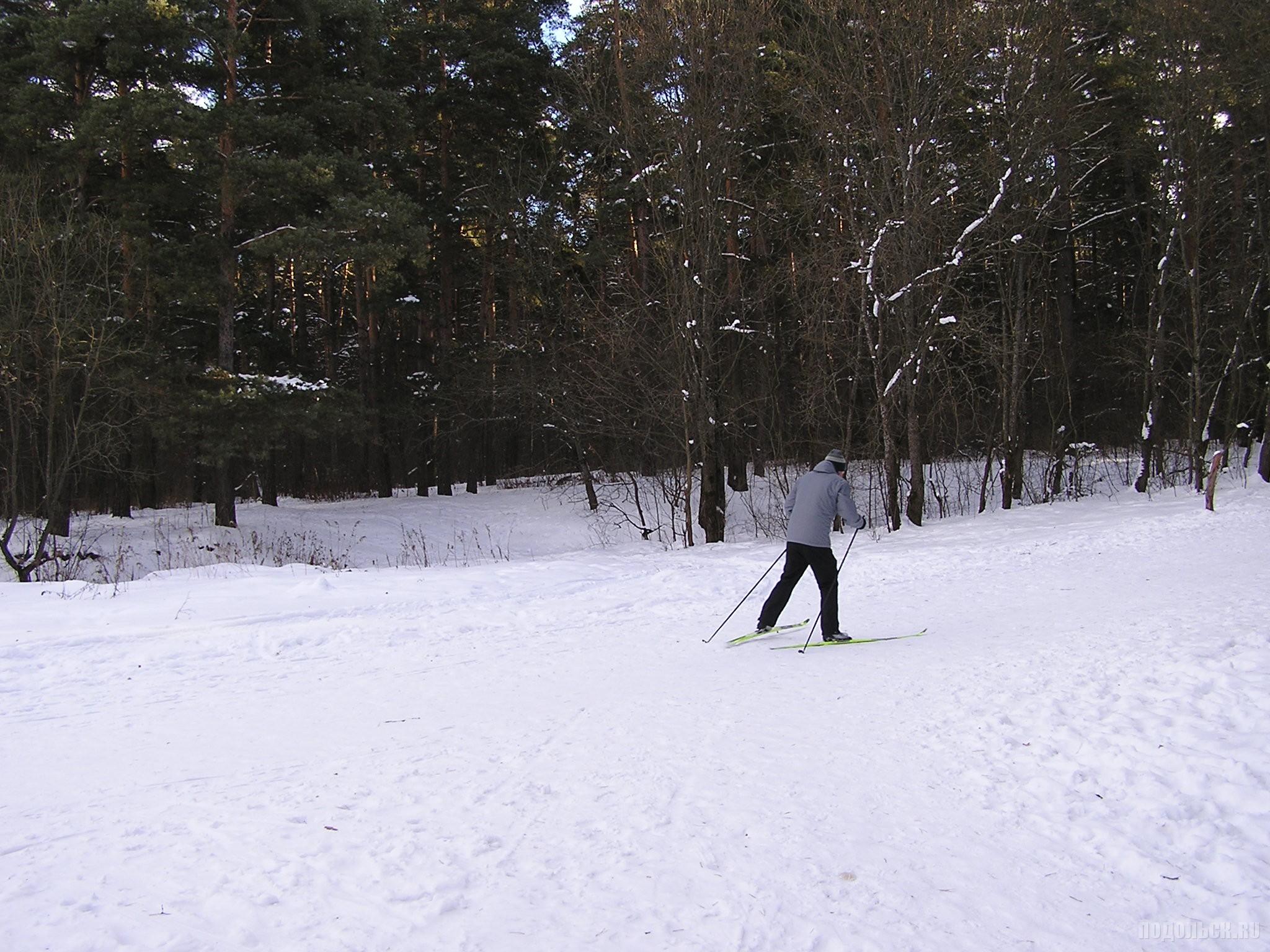 Лыжник на Гривно. 21.01.2017.