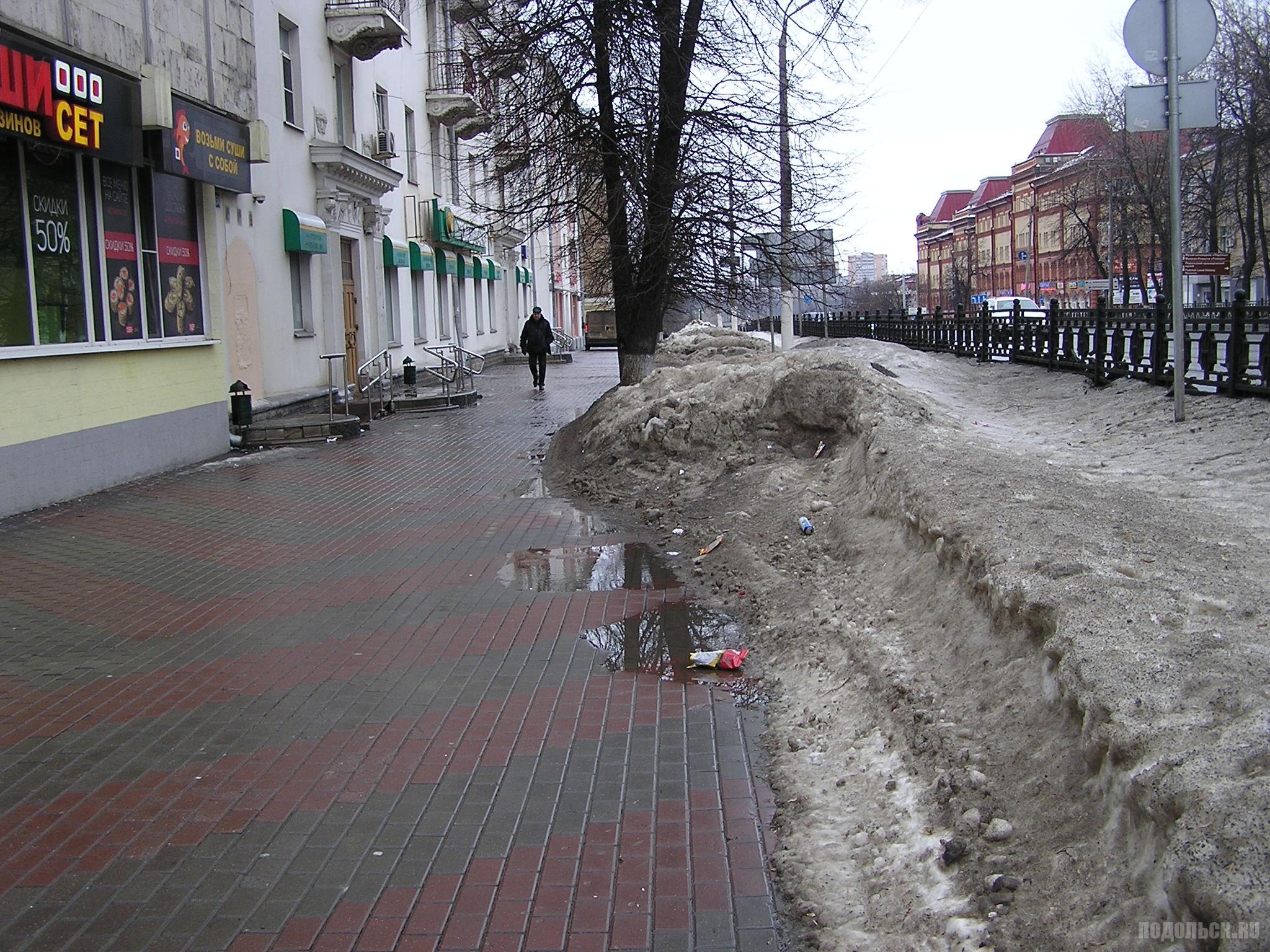 Проспект Ленина у Дома книги. 18.02.17.