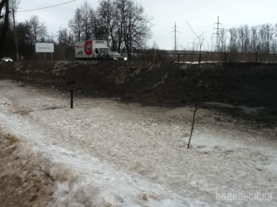 Симферопольская аллея. 20 февраля 2017.