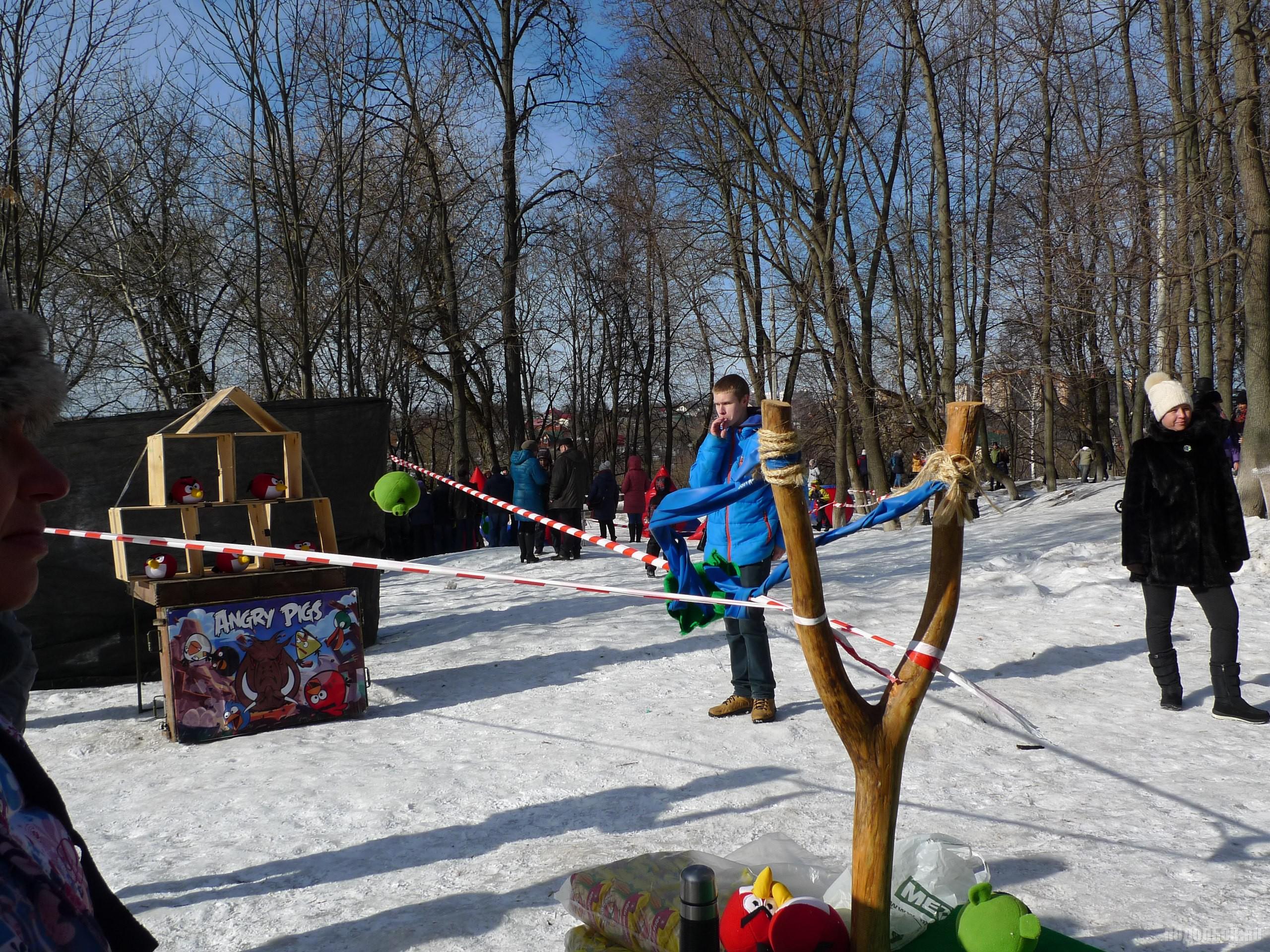 Масленица в парке Талалихина 26 февраля