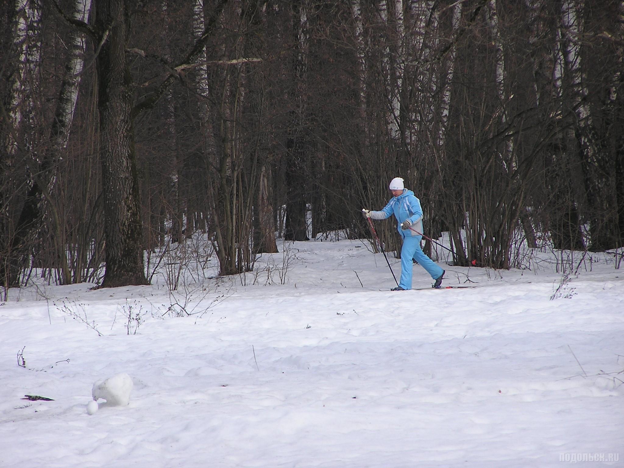 Мартовская лыжня.
