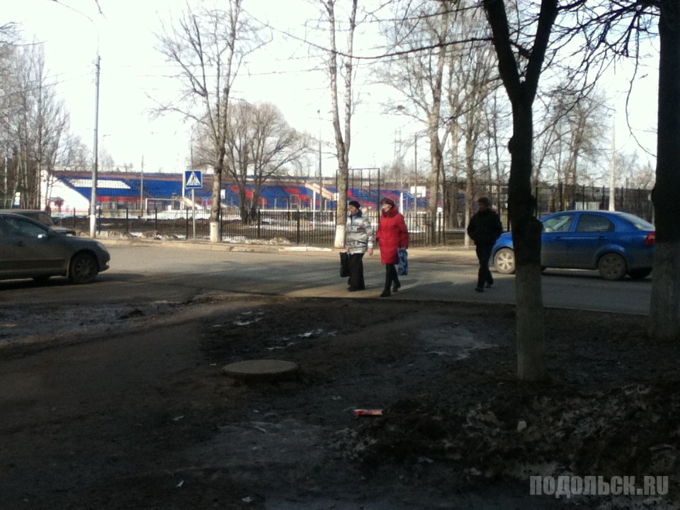 Пешеходы нарушают ПДД. 12.03.2017.