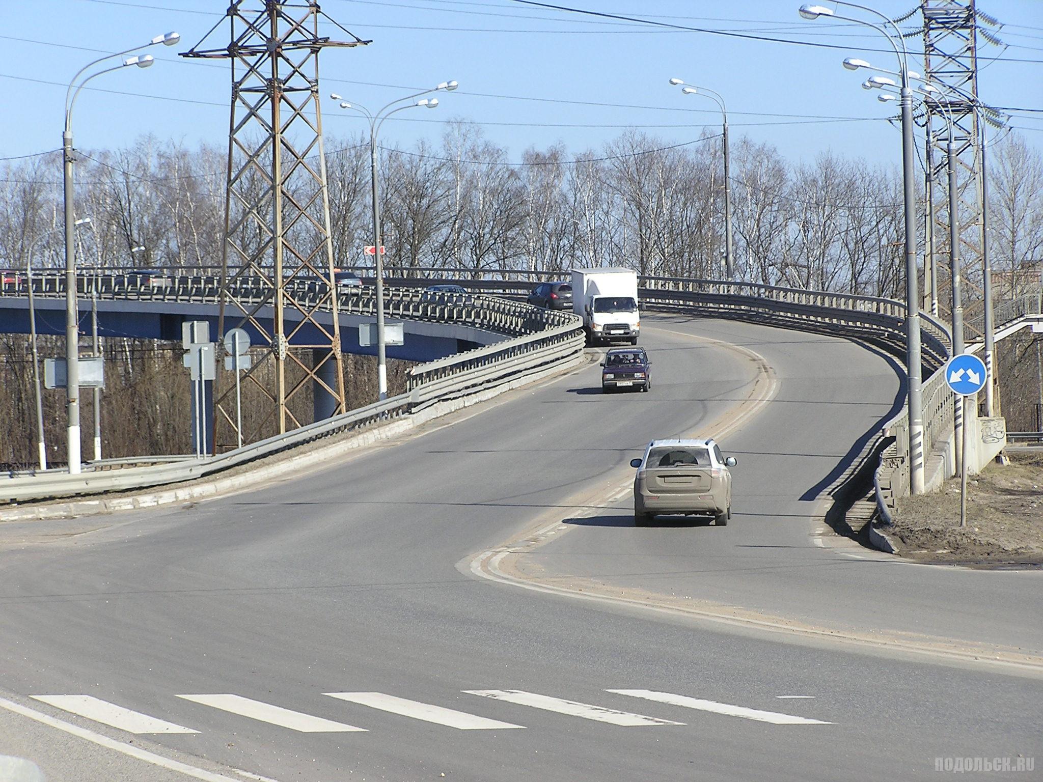 Сергеевский путепровод. 1 апреля 2017.