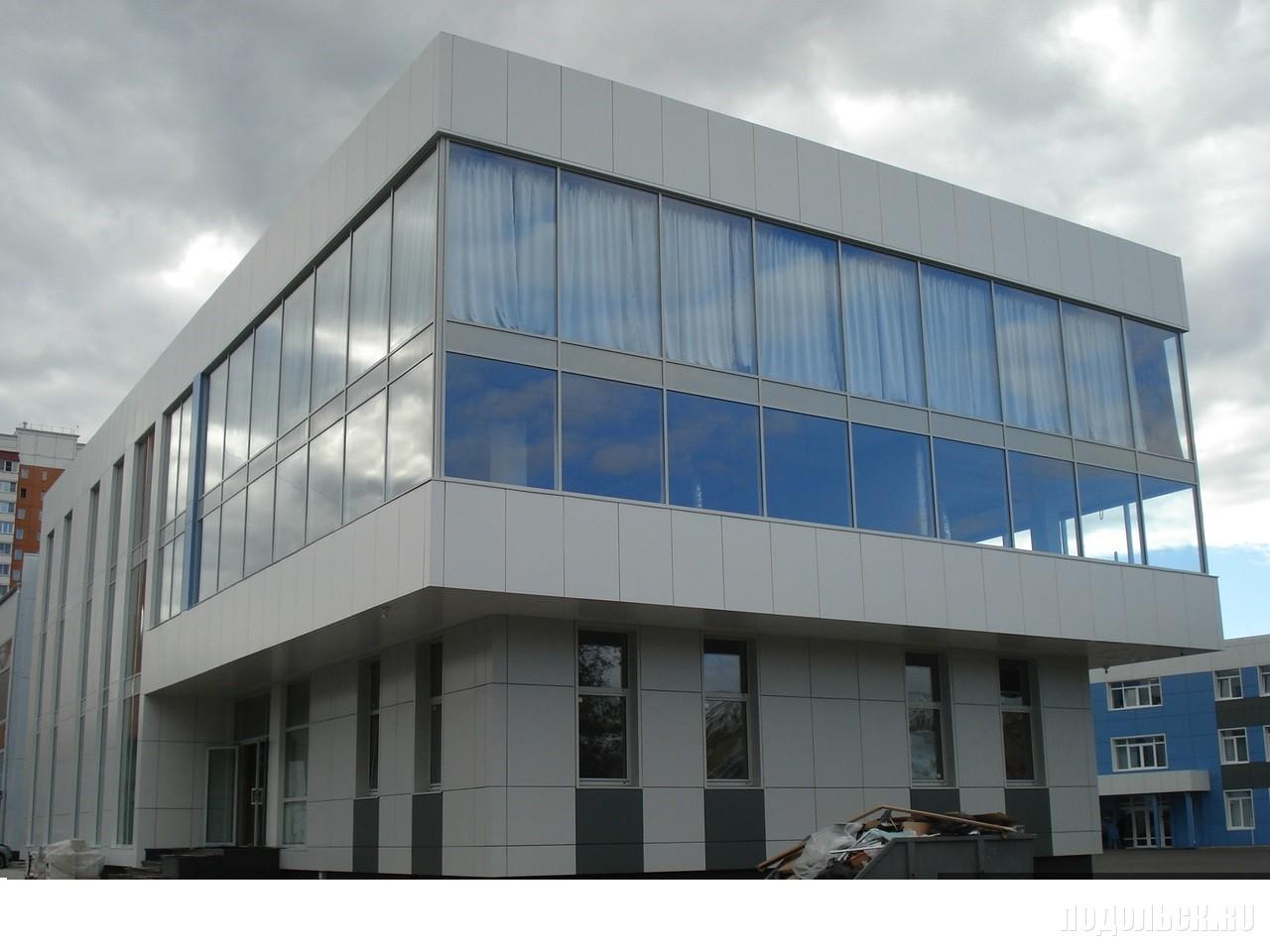 Офисное здание. Подольск, Северная улица, 13. 2017 г.