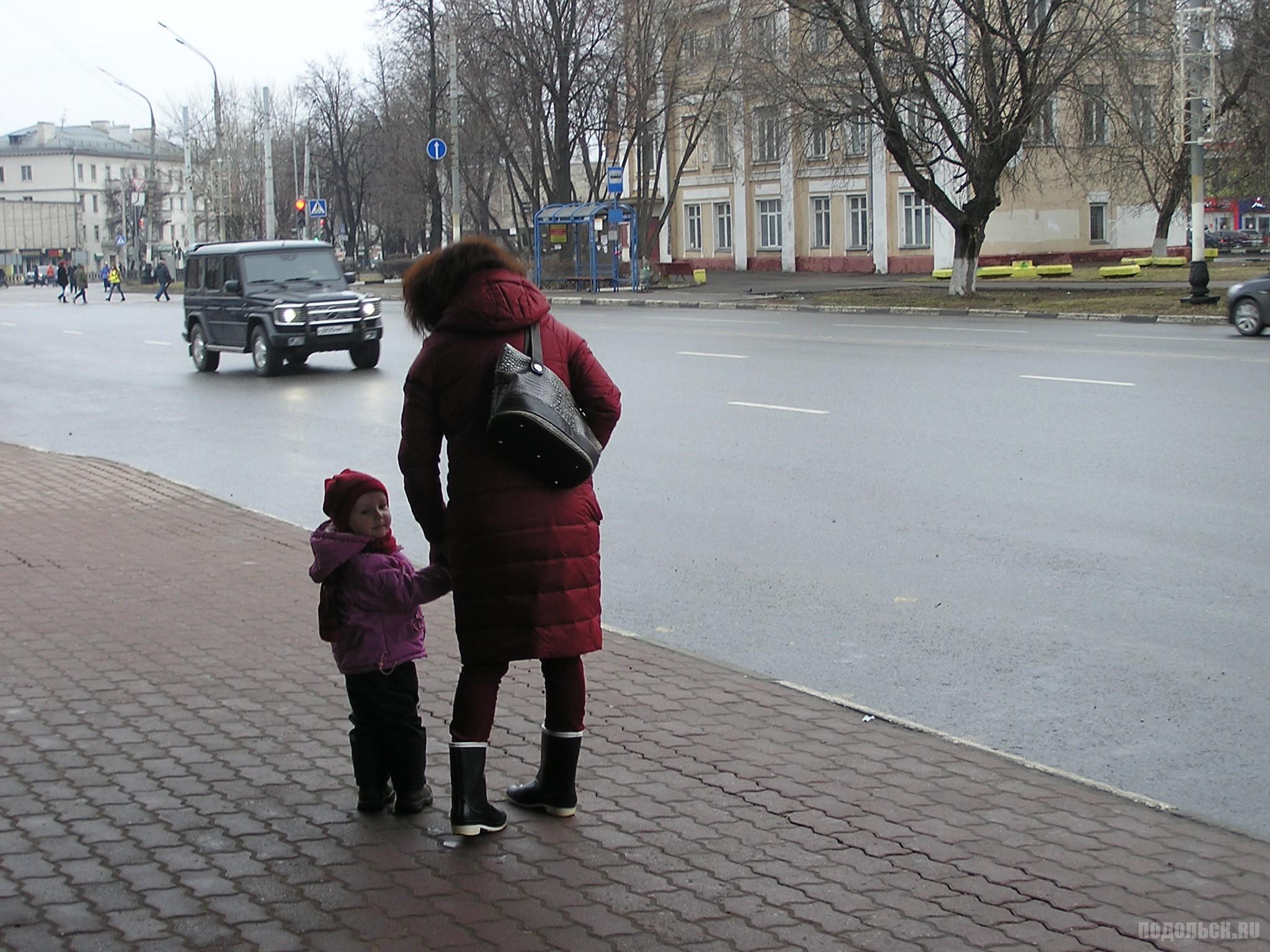 На площади Ленина. 2 апреля 2017.