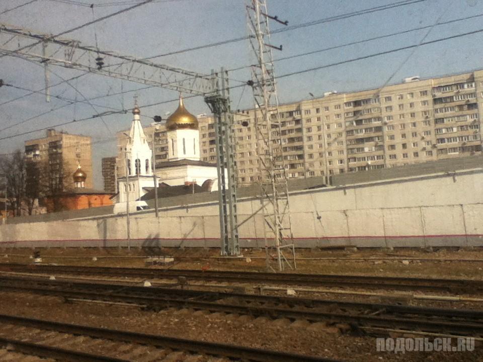 Елисаветинский храм на Щербинке. 6 апреля 2017.