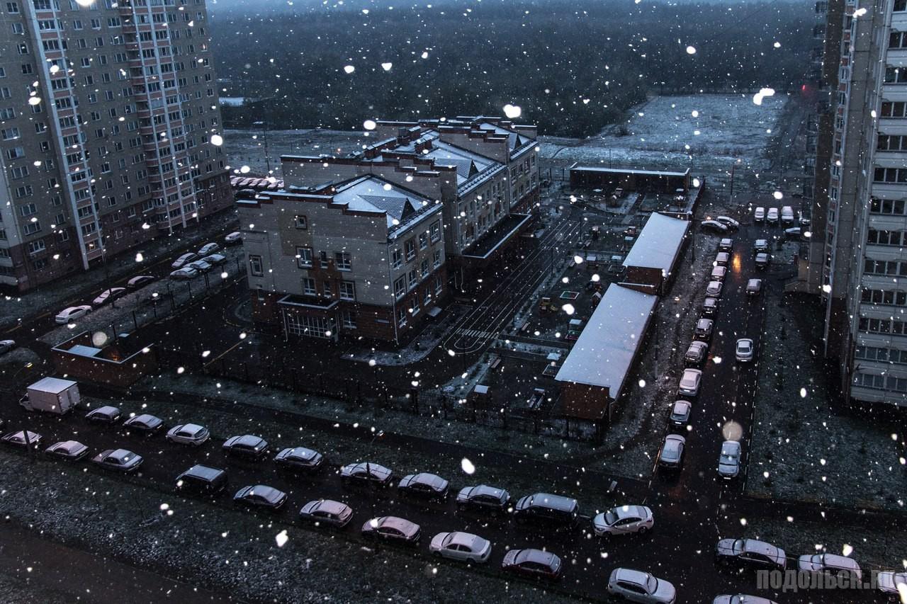 Снег 9 мая.