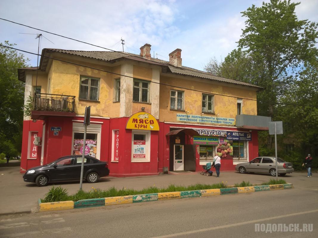 На ул. Подольских Курсантов. Июль 2017.