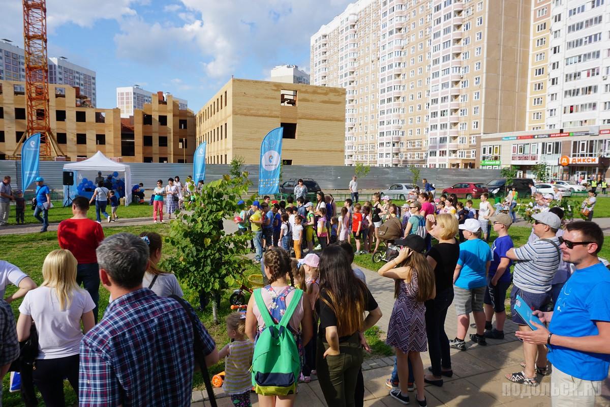 «Ростелеком» организовал семейный праздник на бульваре 11 июля 2017.