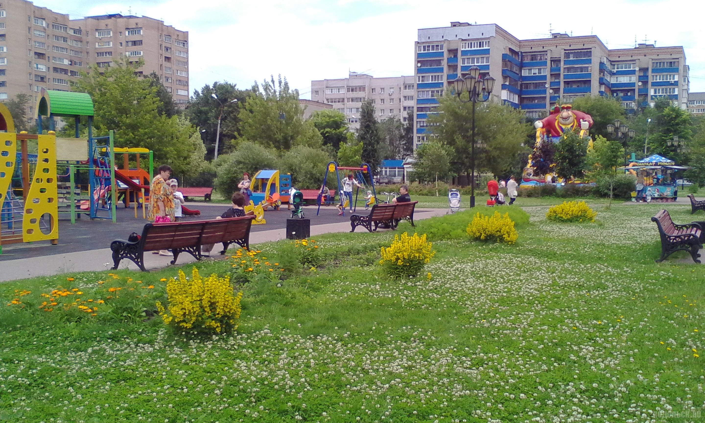 В Детском парке. Июль 2017.