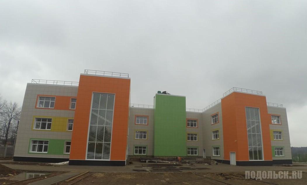 Детский сад в Щапове. Июль 2017.
