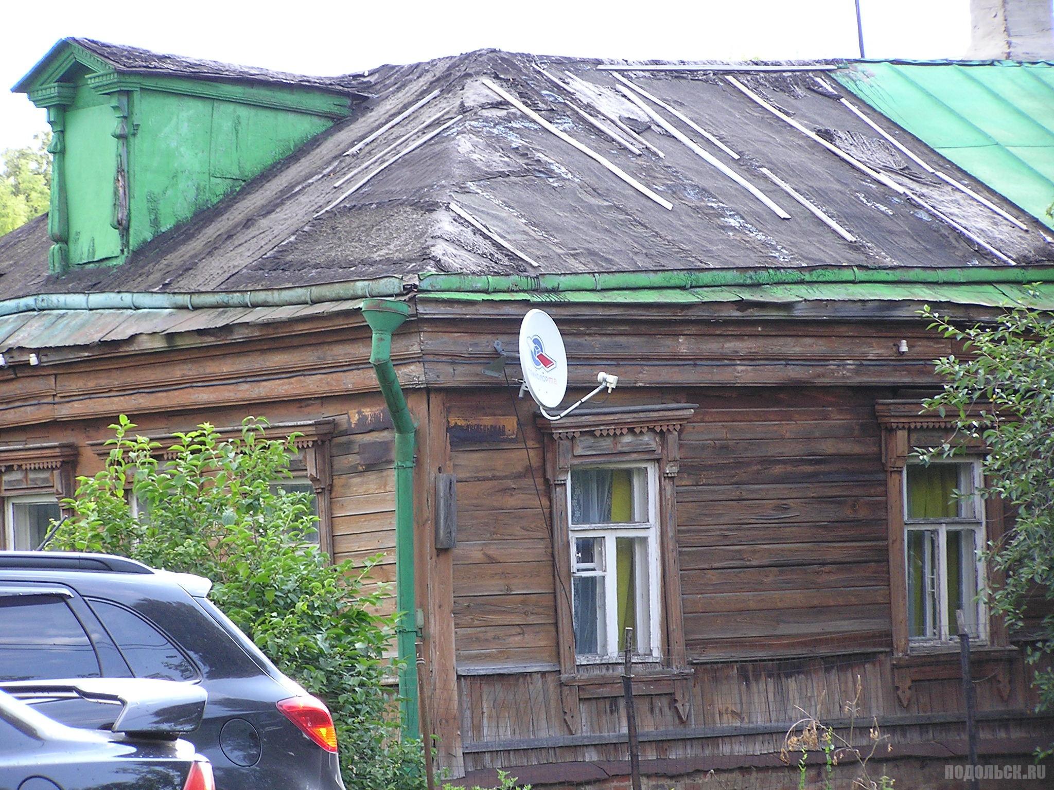 Октябрьская улица. Июль 2017.