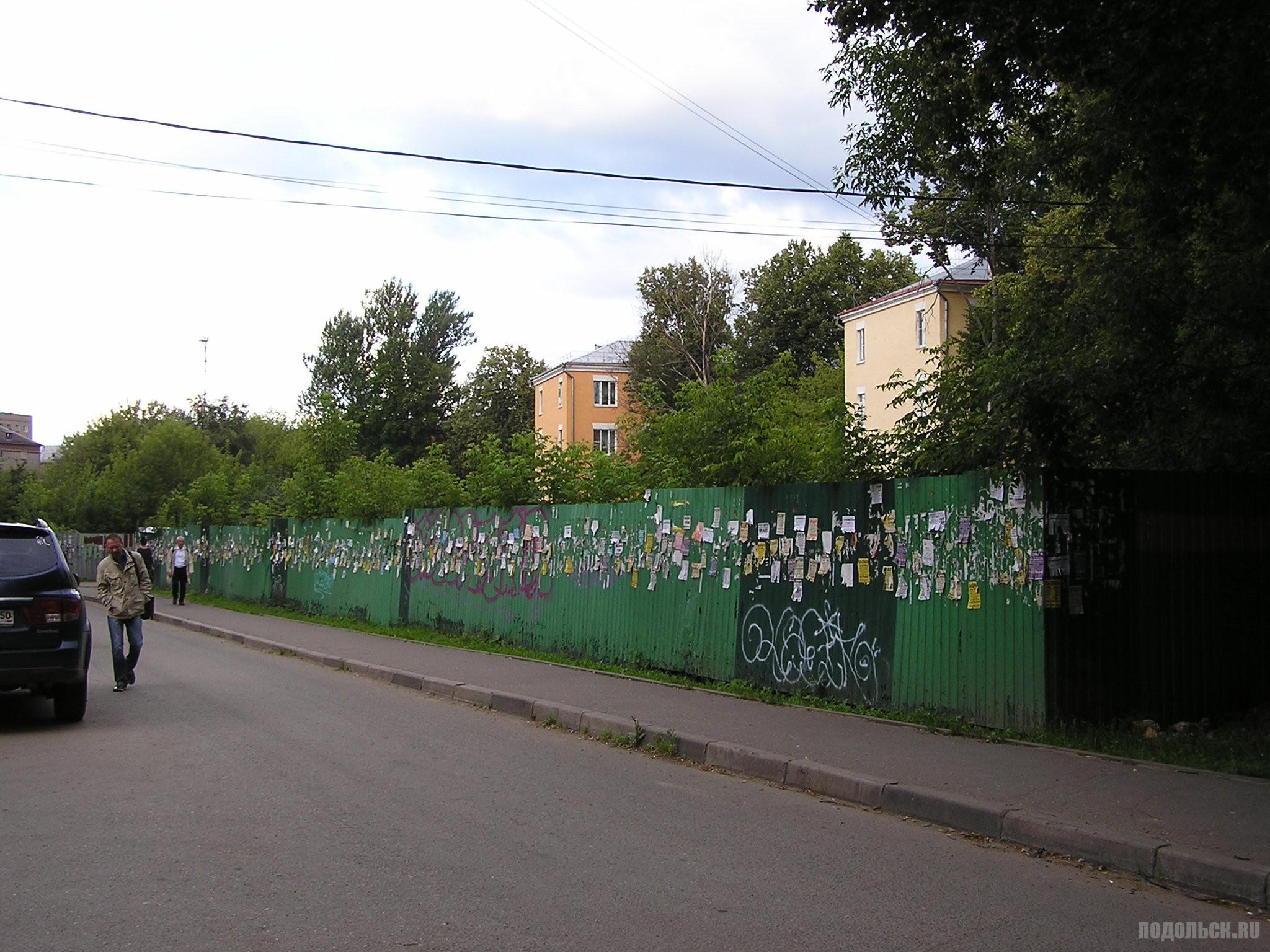 Вокзальная улица - Банный переулок Подольска. Июль 2017.