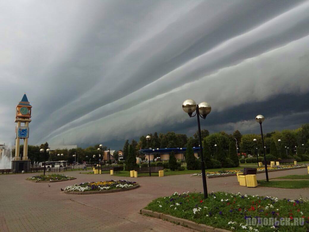 «Небо в полосочку». 28 июля 2017.