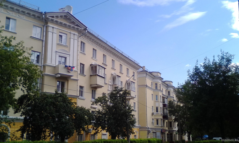 Улица Подольских курсантов. Июль 2017.