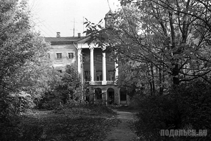 Ивановское имение за год до реставрации. 1975 г.