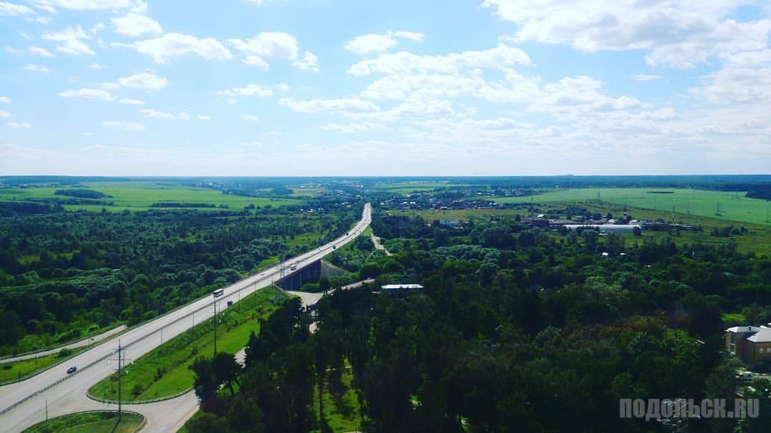 Вид из Кузнечиков-2. Август 2017.