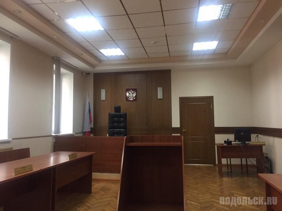 Зал заседаний Климовского городского суда. 2017 г.