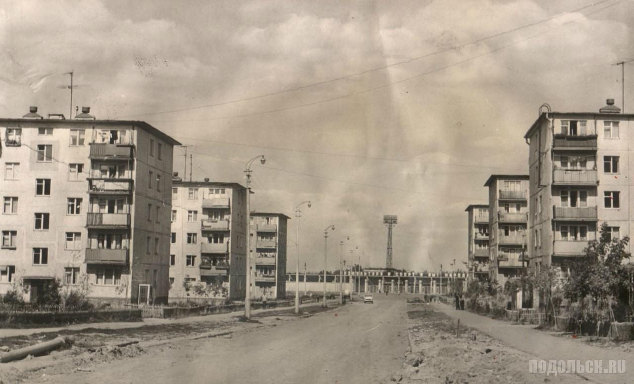 Улица Гайдара, 1967.