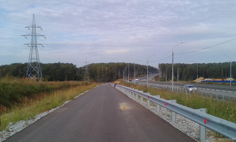 Дорога к старому Сергеевскому кладбищу. 17.09.2017.
