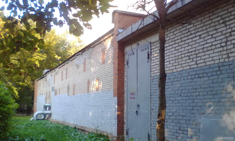 Центральный тепловой пункт (ЦТП). Климовск, проспект. 9.2017.