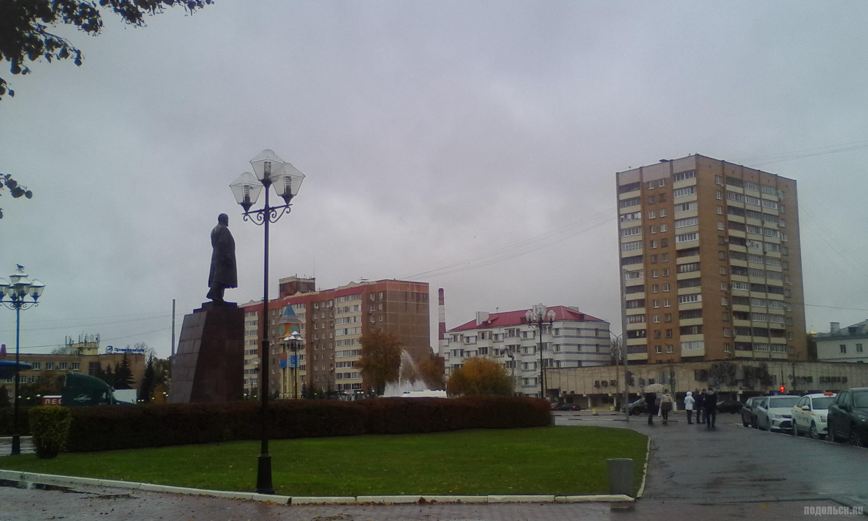Площадь Ленина. Октябрь 2017.
