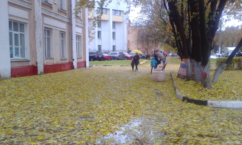 Б. Серпуховская, листопад. Октябрь 2017.