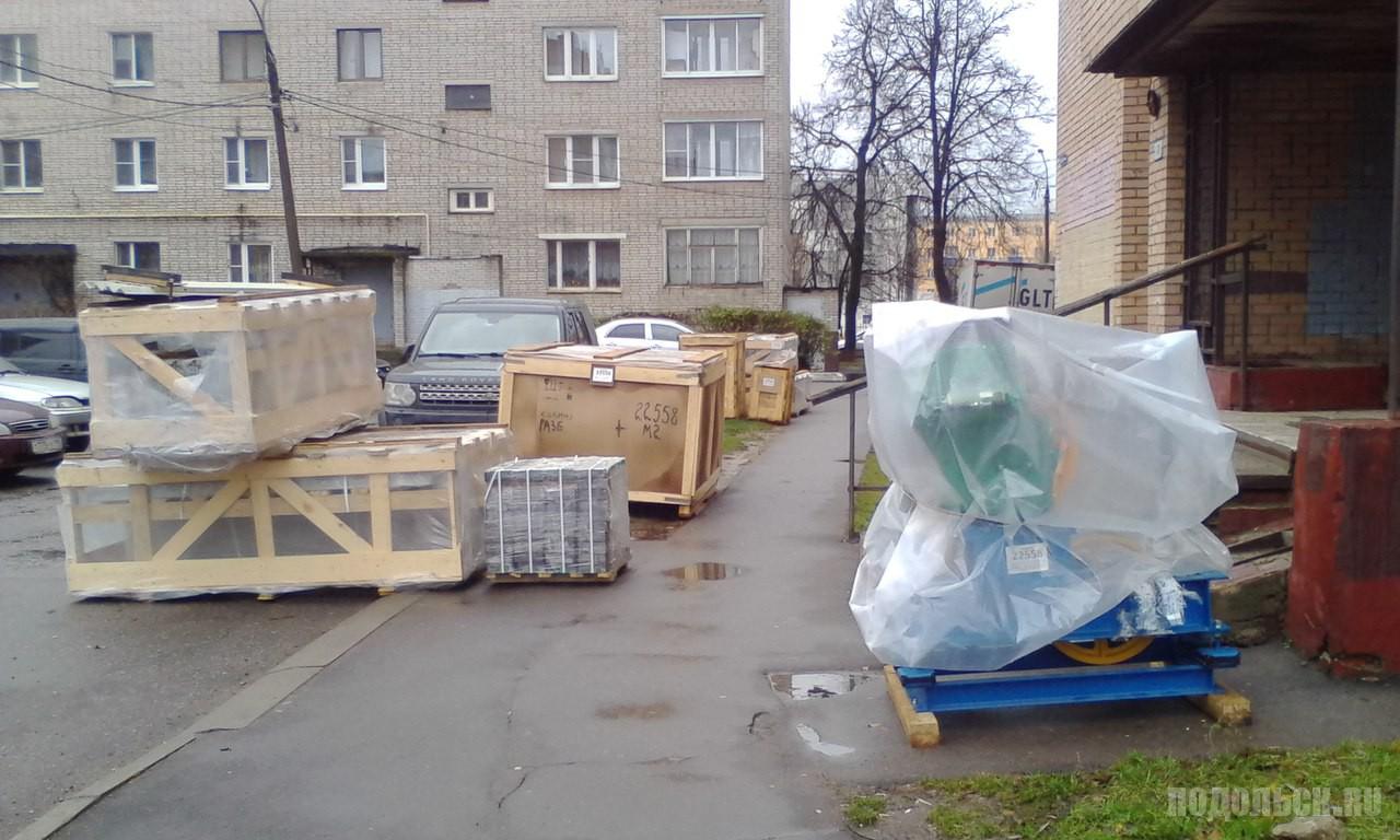Замена лифта в Подольске. Климовск, Заводская. 12.11.2017.