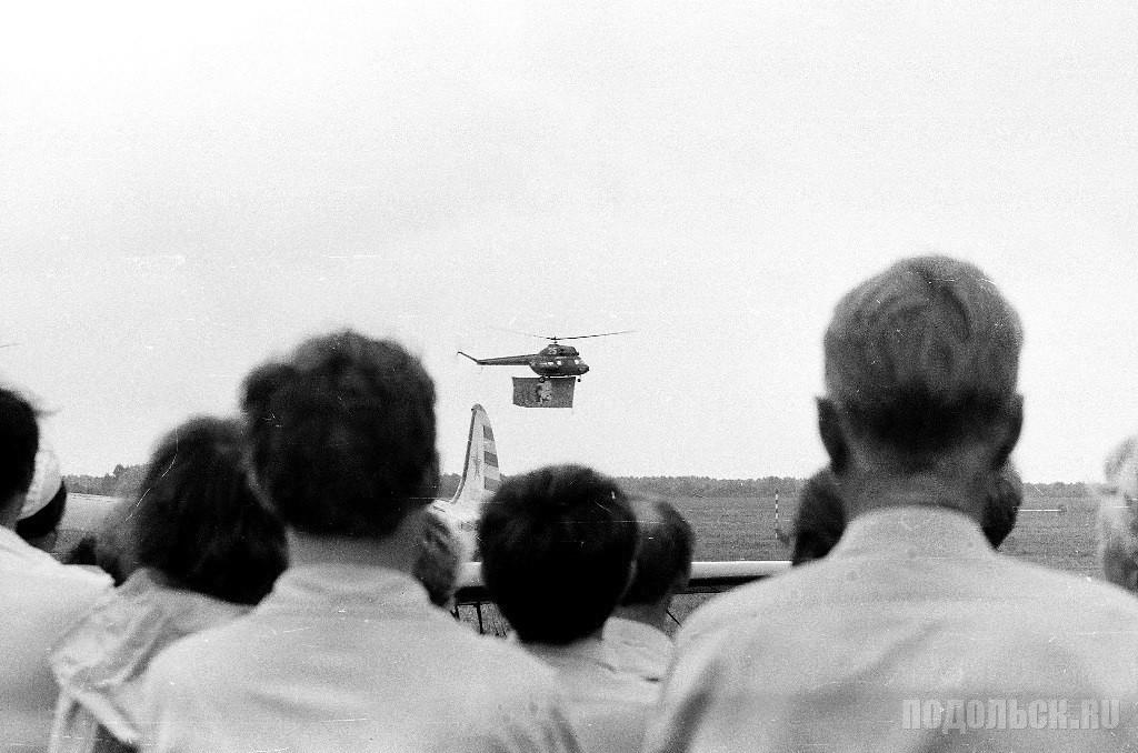 На аэродроме «Кузнечики». 1988.