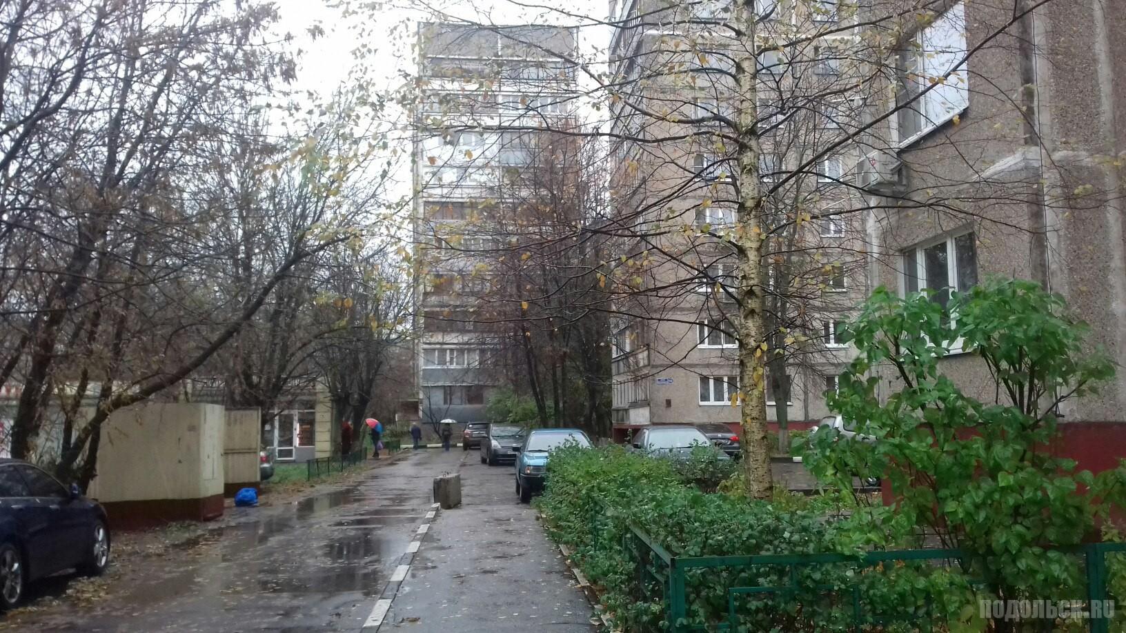Улица Клемента Готвальда. Ноябрь 2017.