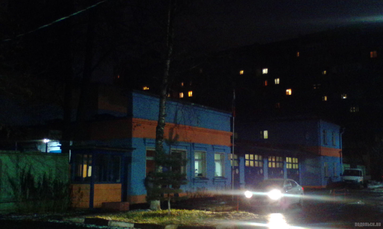 Пожарная часть № 77, Климовск, Весенняя. 21.11.2017.