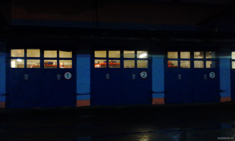 Пожарное депо ПЧ № 77. Ноябрь 2017.