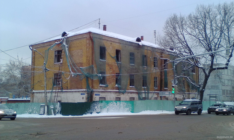 Заброшка на улице Ленина. 7 декабря 2017 г.