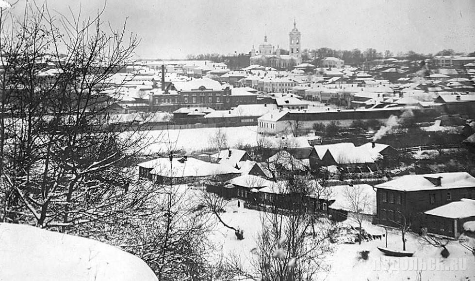 Вид на город из городского парка. 1901-1905 гг.  Фото из коллекции Л.С. Толстухиной.